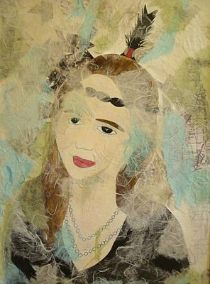 Mixed Media - Past Life Self 3 by Samantha L