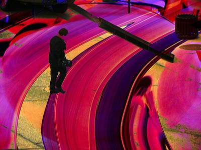 Pathway Digital Art - Past-present-future by Lenore Senior