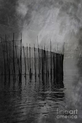 Past Silence.. Art Print by Nina Stavlund
