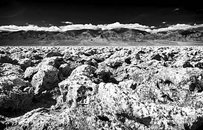 Photograph - Past The Salt Pan by John Rizzuto