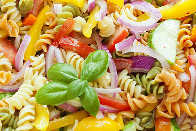Photograph - Pasta Salad by Alexey Stiop