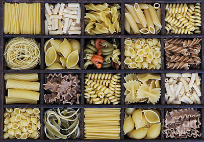 Pasta Art Print by Tim Gainey