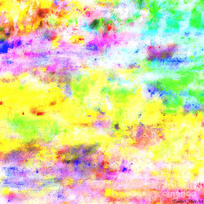 Digital Art - Pastel Abstract Patterns I by Debbie Portwood