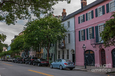 Photograph - Pastel And Pale-colored Houses by Dale Powell