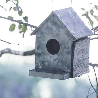 Photograph - Pastel Birdhouse by Kim Swanson