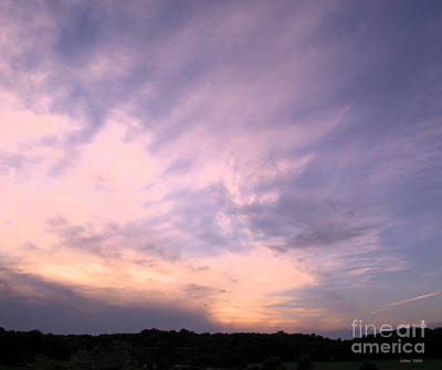 Photograph - Pastel Clouds by Luther Fine Art