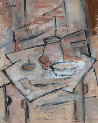 Painting - Pastel De Manzana by Trish Toro