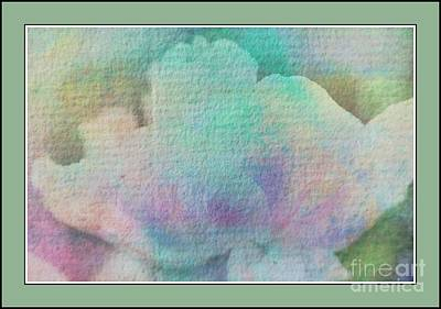 Pastel Flowers Art Print by Kathleen Struckle
