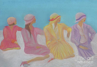 Pastel Hats By Jrr Art Print by First Star Art