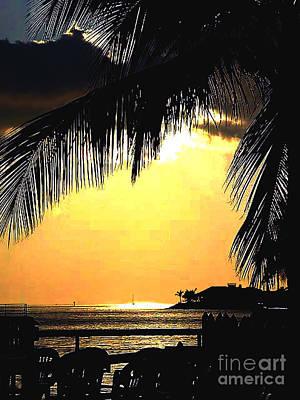 Pastel Hue In Key West Art Print
