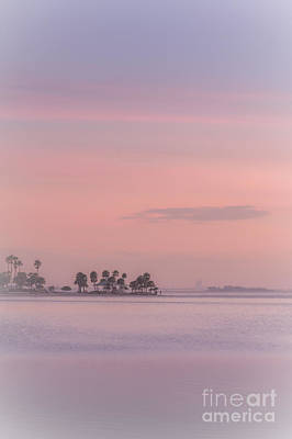 Pastel Islands In The Gulf Art Print