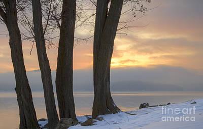 Photograph - Pastel Lakeshore by Idaho Scenic Images Linda Lantzy