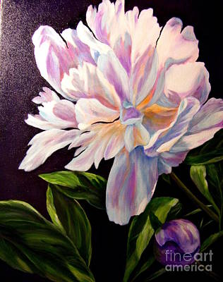 Pastel Peony Art Print
