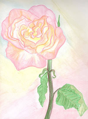 Painting - Pastel Pink by Heather  Hiland