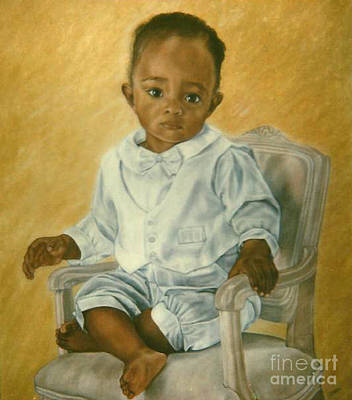 Painting - Paintings By Monica C. Stovall - Pastel Portrait No. Pp21 by Monica C Stovall