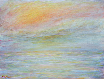 Painting - Pastel Sea  by David Wiles