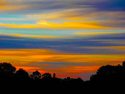 Photograph - Pastel Sunrise by Mark Blauhoefer