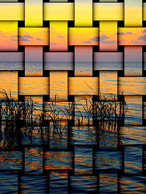 Photograph - Pastel Sunset Weave 1 by Sheri McLeroy