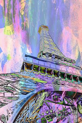 Color Digital Art Digital Art - Pastel Tower by Az Jackson