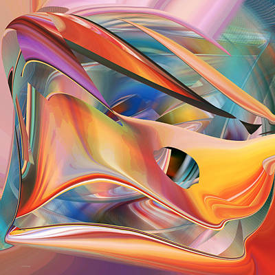 Digital Art - Pastels  Abstract by rd Erickson