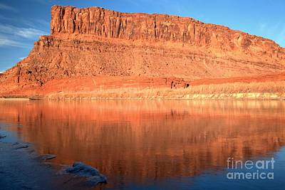 Pastels In The Green River Print by Adam Jewell