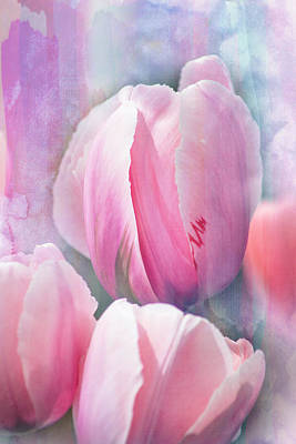 Pastels Of Spring Art Print