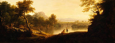 Painting - Pastoral Landscape by Celestial Images