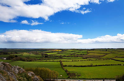 Farmscapes Photograph - Pastoral View From The Sugar Loaf Rock by Panoramic Images
