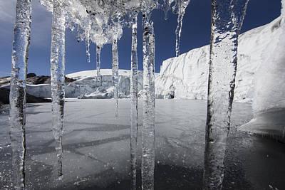 Photograph - Pastoruri Glacier Icicles Cordillera by Cyril Ruoso