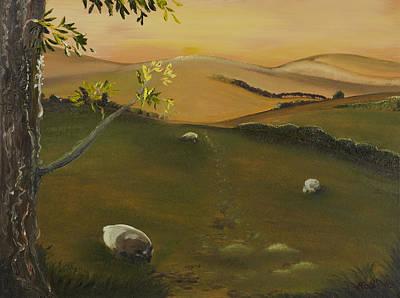 Stonewall Painting - Pastural Vista by Rob Sherwood
