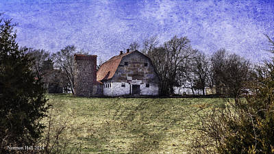 Photograph - Pasture And Barn by Lisa and Norman  Hall
