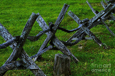 Photograph - Pasture Fence by William Norton