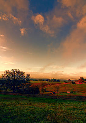 Pastureland Print by Don Schwartz