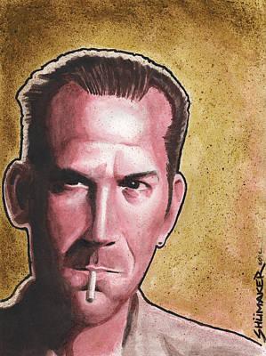 Prison Painting - Pat by David Shumate