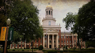 Pat Neff Hall - Baylor University Print by Stephen Stookey