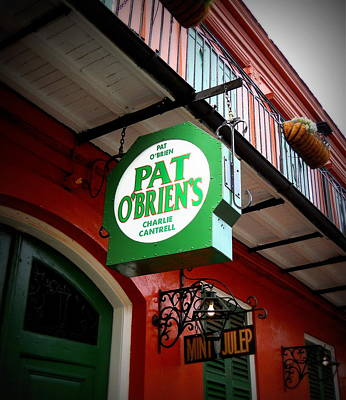 Pat O's Art Print by Beth Vincent