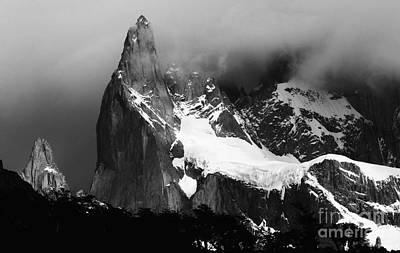 Photograph - Patagonia Cerro Torre by Bob Christopher