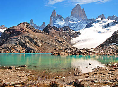 Photograph - Patagonia Mountain Landscape by JR Photography