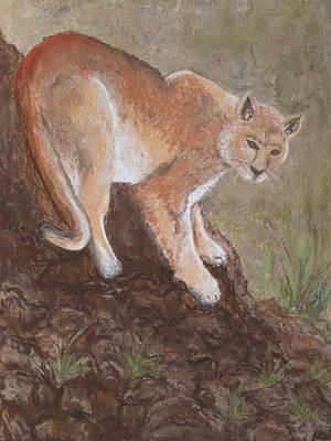 Pastel - Patagonia Puma Pastel by Patricia Beebe