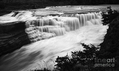 Photograph - Patagonia Rio Glaciar Waterfall by Bob Christopher