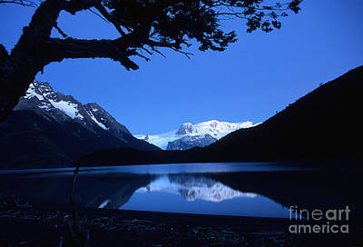 Dickson Photograph - Patagonian Blue by James Brunker