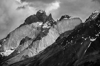 Patagonian Mountains Art Print