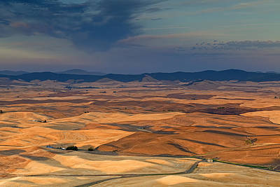 Photograph - Patched Palouse by Ray Still