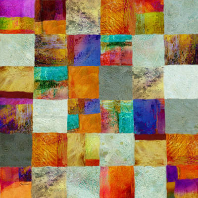 Painting - Patchwork Abstract Art by Ann Powell