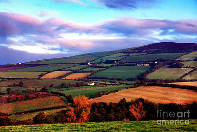 Strabane Photograph - Patchwork Fields by Thomas R Fletcher