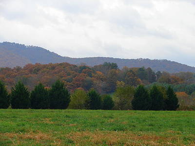 Photograph - Patchwork Hills by Lew Davis