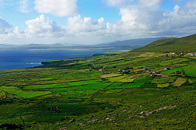 Irish Seascape Photograph - Patchwork Landscape by Aidan Moran