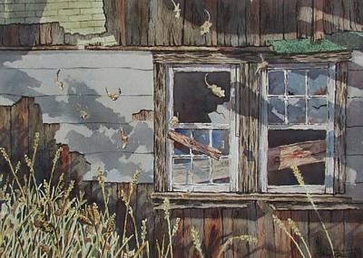 Painting - Patchwork by Tony Caviston