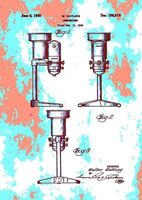 Patent Art Blender Art Print