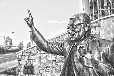 Paterno In Black And White Art Print by Tom Gari Gallery-Three-Photography